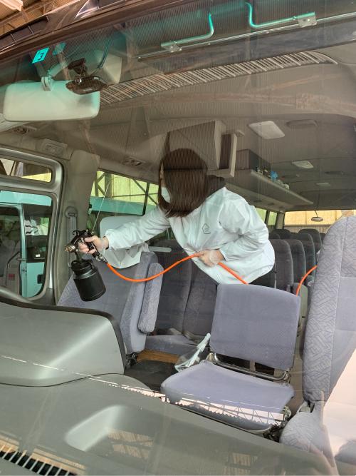 エタクシーバス車両(揖斐タクシー様)